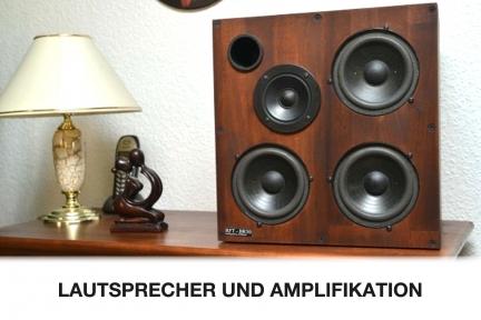 Lautsprecher und Amplifikation