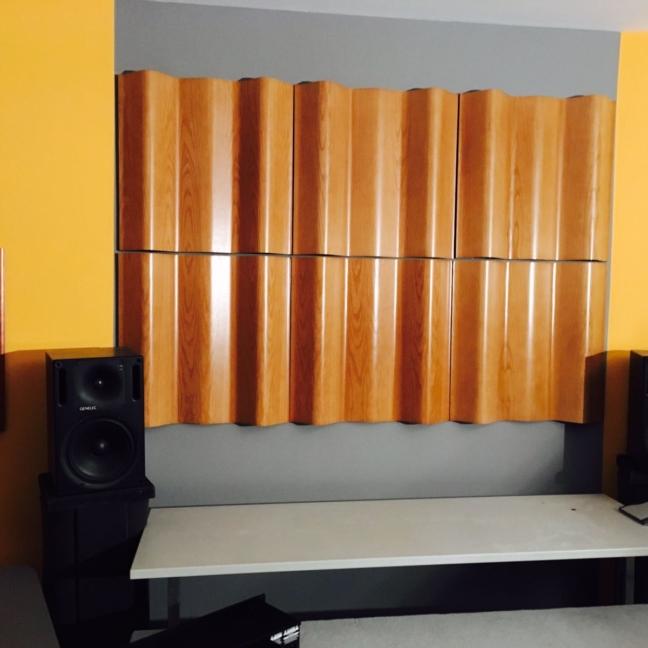 raumakustik akustik studio highend audio design interior beratung consulting technology wood holz furniture studiomöbel planung service architekt klang absorber sound butler diffusor nachhallzeit